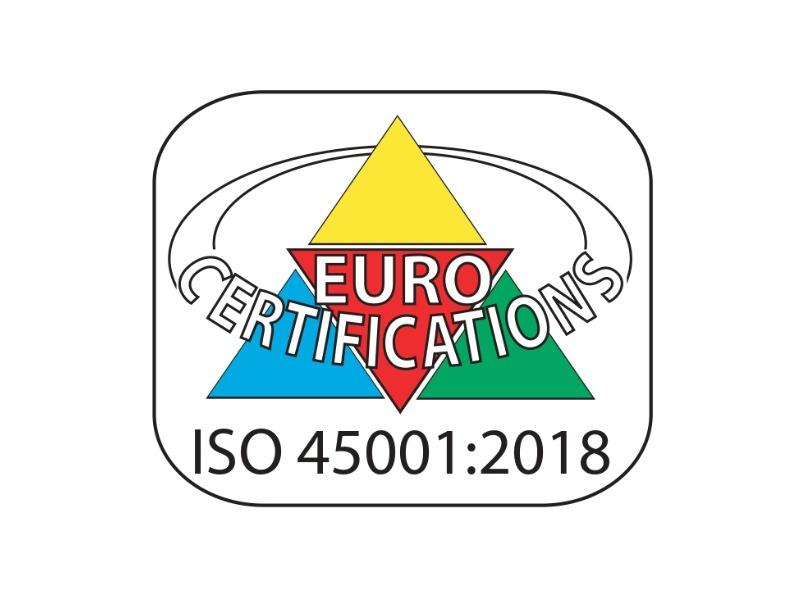 Certificato ISO 45001:2018