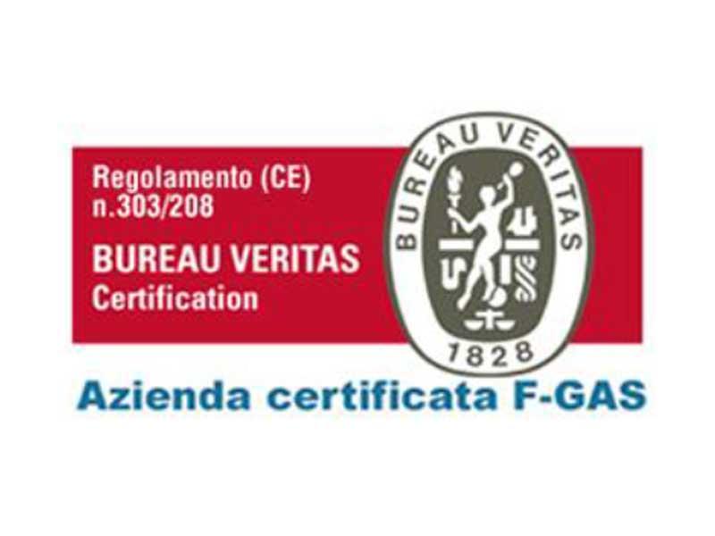 Certificato di Qualità del Condizionamento BUREAU VERITAS